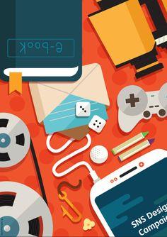 혼자서 심심할 때 핸드폰으로 뭘 하지?  #Design #Poster #Tstore #SKplanet