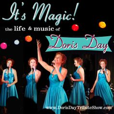 It's Magic! The Life & Music of Doris Day starring Kelly Lester Show And Tell, Dory, The Life, Magic, Formal Dresses, Fashion, Dresses For Formal, Moda, Formal Gowns