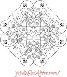 mandala-hearts-strawberries-bees.png (650×752)