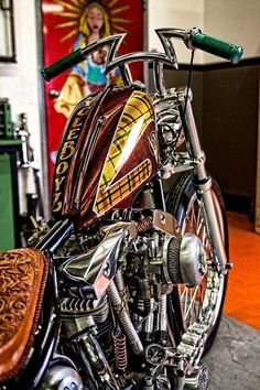 Best Harley Davidson bobber pics Old school - Japan style Custom Motorcycle Parts, Motorcycle Paint Jobs, Motorcycle Art, Bike Art, Harley Bobber, Harley Davidson Chopper, Harley Bikes, Harley Davidson Motorcycles, Custom Street Bikes