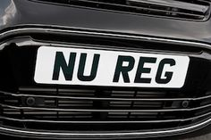 Quick guide to private number plates