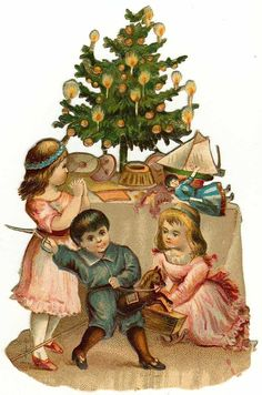 antique  and vintage .victorian cards | Clip Art from Vintage Holiday Crafts » Blog Archive » Free Vintage ...