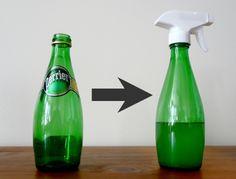 41481cf712dc7 Sama wykonasz efektowne dekoracje ze szklanych butelek. Nie znajdziesz  takich w sklepach Diy Cleaners