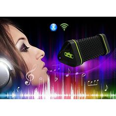 Arrela® Portable Bluetooth Speaker Handsfree Speakerphone for iPhone Samsung Smartphone Tablet