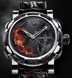 Rj Romain Jerome watches Volcano DNA