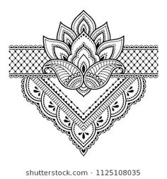 Mehndi flower pattern for Henna drawing and tattoo. Decoration in ethnic oriental, Indian style. - - Archivio Fotografico - Mehndi flower pattern for Henna drawing and tattoo. Decoration in ethnic oriental, Indian style. Mehndi Drawing, Henna Drawings, Mandala Drawing, Henna Tatoo, Henna Art, Henna Mehndi, Mandala Tattoo Design, Mehndi Art Designs, Henna Tattoo Designs