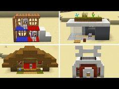 Minecraft Dog House, Minecraft Mansion, Minecraft Cottage, Cute Minecraft Houses, Minecraft City, Minecraft Plans, Minecraft House Designs, Amazing Minecraft, Minecraft Construction