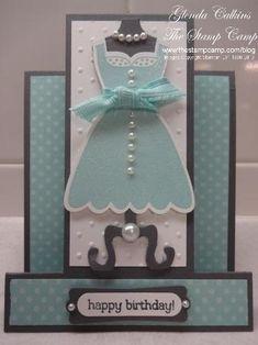 Stampin Up! All Dressed Up by Glenda Calkins - Cards and Paper Crafts at Splitcoaststampers