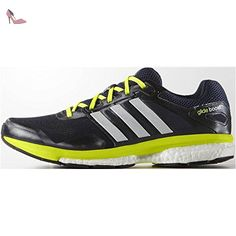 buy popular 21a7f b0ab1 Adidas - ADIDAS - Chaussures Homme - SUPERNOVA GLIDE BOOST 7 M Noir Jaune -  pointures  44  Amazon.fr  Chaussures et Sacs