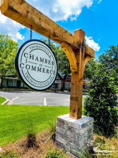 New business sign designed by Matt Dukes at Stony Creek Landscaping in Thomasville GA