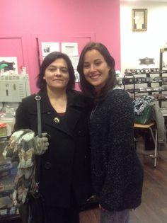 Las  #bloggers de @elvestidorbego y @Michelle Fletcher Medvick.0 también nos han visitado. Cada una de ellas ya tiene un #perfume diseñado en exclusiva. #diseñatuperfume