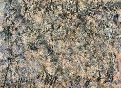 Jackson Pollock, Number 1, 1950 (Lavender Mist),1950, National Gallery of Art, Ailsa Mellon Bruce Fund, 1976.37.1 (Click image or hotlink below to enlarge - 446 k)