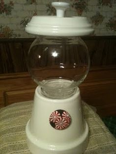 Make your own bubblegum machine!  How fun for the kids!  http://www.thestuffofsuccess.com/2011/06/make-your-own-bubble-gum-machine.html