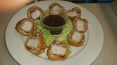 Tempura Bacon wrap Scallops
