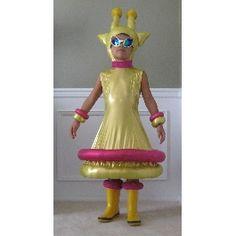 Friendly Alien Halloween Costume
