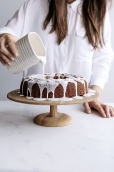 Citrus, Vanilla & Olive Oil Spelt Cake with Rose | Gather & Feast
