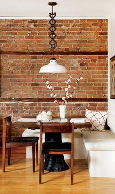 Article inspirations salle à manger sur le blogue >> http://pierresetroches.wordpress.com