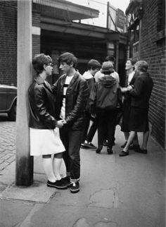 Young Mods in London, 1964 - http://www.gettyimages.co.uk/detail/photo/british-mods-high-res-stock-photography/152381510