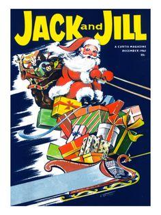 *Christmas Flight - Jack and Jill, December 1961*