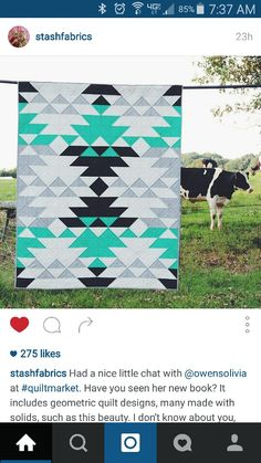 Native American hst quilt pattern