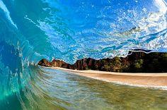Dreaming of warm ocean waves