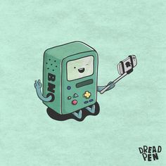 Adventure Time Selfies on Behance