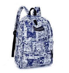 High-Quality Large-Capacity Design Print Backpack 4 Designs