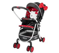 """Graco Modes Click Connect Stroller - Onyx - Graco - Babies """"R"""" Us Stroller can face towards or away from parent, be a stroller frame for the carseat, folds flat as a bassinet. Description from pinterest.com. I searched for this on bing.com/images"""