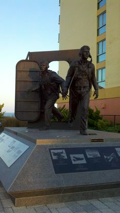 @ Virginia Beach 25th street salute to the arms forces!