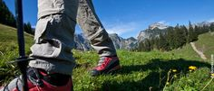Wandern in den Alpen Sport, Bomber Jacket, Camping, Summer Vacations, Climbing, Alps, Hiking, Travel, Campsite