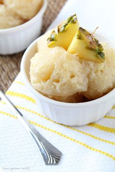 Skinny Banana Pineapple Ice by Love Grows Wild for Sumo's Sweet Stuff