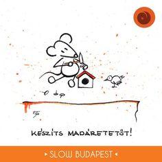 Rajzoljuk a slow forradalmat! | Slow Budapest © Tongori Szilvia http://graphicdesigner.site11.com/