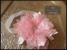 """NO SEW Fabric Flower Pattern """"Pouting Princess"""" Headband Patter"""