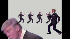 Trump vs Talking Heads - once in a lifetime