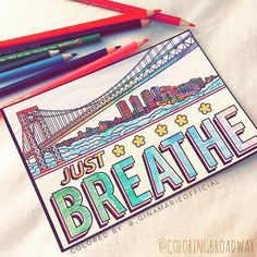 """We all love meaningful lyrics from our favorite Broadway musicals! Take the time to """"Just Breathe…"""" and be still. Relax, get mindful and let your artistic side shine! Broadway Lyrics, Broadway Theatre, Musical Theatre, In The Heights Cast, Height Quotes, Old Pianos, Theatre Nerds, Dear Evan Hansen, Just Breathe"""