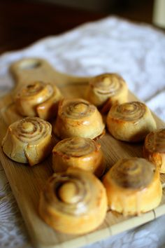 Pumpkin Cinnamon Rolls w/ Maple Icing