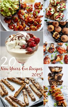 New Years Eve Recipes 2015