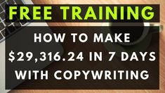Copywriting Tutorial for BEGINNERS - How to Write a Sales Letter That Co... Make Money Fast Online, Make Real Money, Online Marketing Strategies, Marketing Articles, Advertise Your Business, Online Business, Sales Letter, Article Writing, Down South