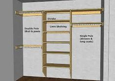 Image result for diy built in wardrobes uk plans