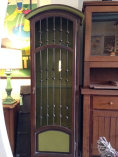 Tall Cabinet with Iron