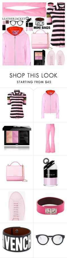 """Leather Jackets//Mini Bags"" by shoaleh-nia ❤ liked on Polyvore featuring Givenchy"