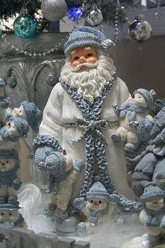 Pastel Blue Christmas