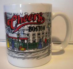 Cheers Boston Coffee Mug Cup BIN 8.99