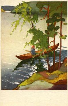 The Art of Martta Wendelin - Finland List Of Artists, New Artists, Vintage Images, Vintage Art, Baumgarten, Fairytale Art, Art For Art Sake, Illustrations And Posters, Christmas Art