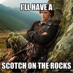 The Red Margins: I'll Have What She's Having: Scotch on the Rocks