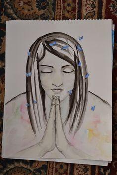 motlidba, akvarel z cesty po Sri Lance...jestli se vám libí tak tady je více mé tvorby www.mls-art.cz