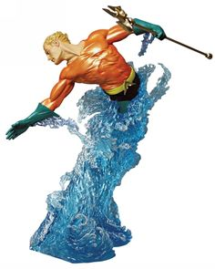 DC Dynamics: Aquaman [Statue] by DC Direct
