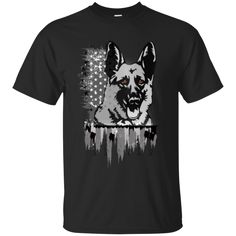 Hoodie, T-shirts, Pocket cinch pack all are available in German shepherd print. It's cotton and available for both men and women.