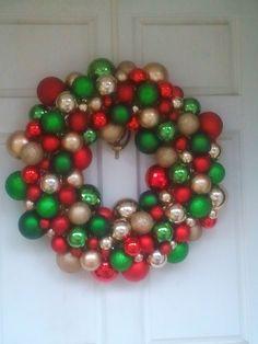 Christmas Ball Wreath!