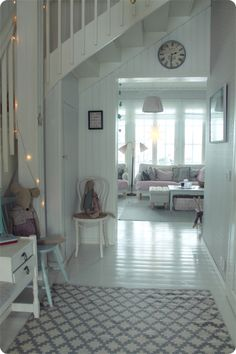 V a l k e a a U n e l m a a Swedish Interiors, Cabin Interiors, Love Home, My Dream Home, Sweet Home Design, House Stairs, Scandinavian Interior, Cozy House, Beautiful Homes